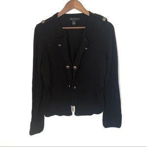 INC International Concepts Black Cardigan